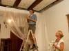 plafond restauratie, bedandbreakfast-leer