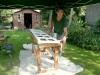 kozijnen schilderen, bedandbreakfast-leer