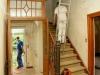 renovatie hal, bedandbreakfast-leer